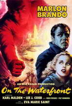 On the Waterfront - 27 x 40 Movie Poster - Style E