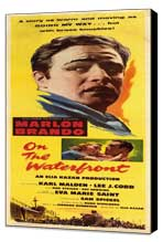 On the Waterfront - 14 x 36 Movie Poster - Insert Style A - Museum Wrapped Canvas
