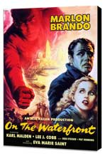 On the Waterfront - 27 x 40 Movie Poster - Style E - Museum Wrapped Canvas
