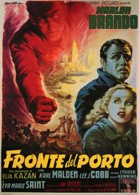 On the Waterfront - 11 x 17 Movie Poster - Italian Style A