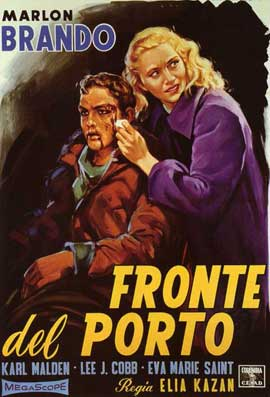 On the Waterfront - 11 x 17 Movie Poster - Italian Style B