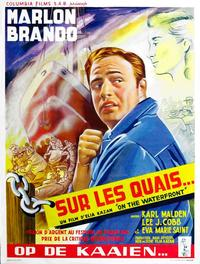 On the Waterfront - 11 x 17 Movie Poster - Belgian Style A