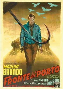 On the Waterfront - 27 x 40 Movie Poster - Italian Style B