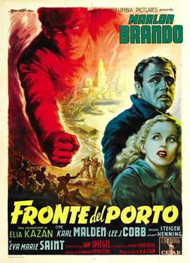On the Waterfront - 27 x 40 Movie Poster - Italian Style A