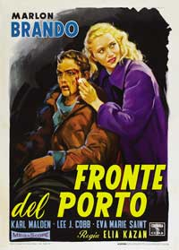 On the Waterfront - 43 x 62 Movie Poster - Italian Style B