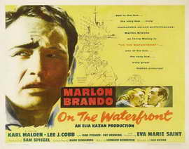 On the Waterfront - 11 x 17 Movie Poster - Style E