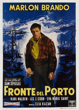 On the Waterfront - 11 x 17 Movie Poster - Italian Style D