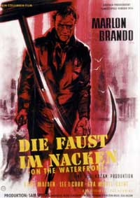 On the Waterfront - 11 x 17 Movie Poster - German Style B