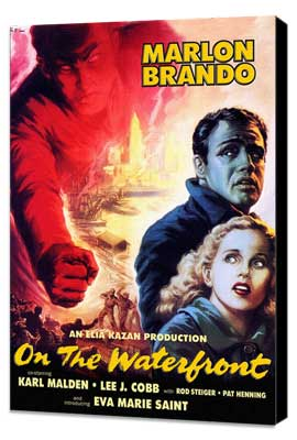 On the Waterfront - 11 x 17 Movie Poster - Style D - Museum Wrapped Canvas