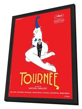 On Tour - 27 x 40 Movie Poster - French Style A - in Deluxe Wood Frame