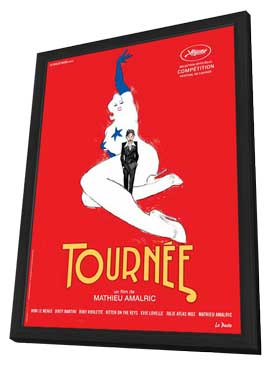 On Tour - 11 x 17 Movie Poster - French Style A - in Deluxe Wood Frame