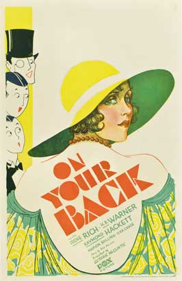 On Your Back - 11 x 17 Movie Poster - Style A