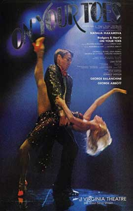On Your Toes (Broadway) - 27 x 40 Movie Poster - Style A