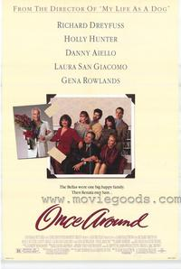 Once Around - 43 x 62 Movie Poster - Bus Shelter Style A