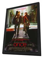 Once - 27 x 40 Movie Poster - Style A - in Deluxe Wood Frame