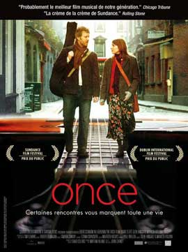 Once - 11 x 17 Movie Poster - French Style A