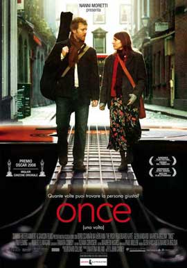 Once - 11 x 17 Movie Poster - Italian Style A