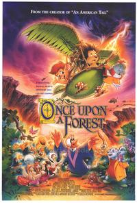 Once Upon a Forest - 27 x 40 Movie Poster - Style B