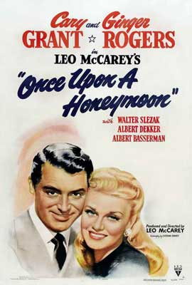 Once Upon a Honeymoon - 27 x 40 Movie Poster - Style A