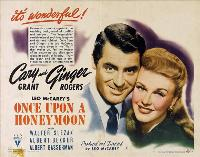 Once Upon a Honeymoon - 30 x 40 Movie Poster UK - Style A