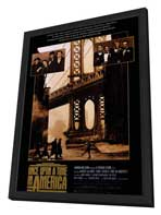Once Upon a Time in America - 11 x 17 Movie Poster - Style A - in Deluxe Wood Frame