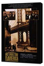 Once Upon a Time in America - 27 x 40 Movie Poster - Style A - Museum Wrapped Canvas