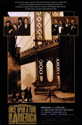 Once Upon a Time in America - 11 x 17 Movie Poster - Style A