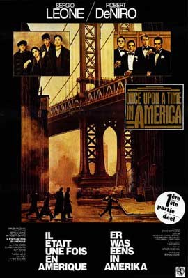 Once Upon a Time in America - 11 x 17 Movie Poster - Belgian Style A