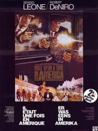 Once Upon a Time in America - 11 x 17 Movie Poster - Belgian Style B