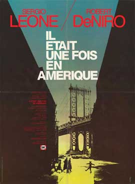Once Upon a Time in America - 11 x 17 Movie Poster - French Style A
