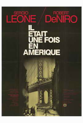 Once Upon a Time in America - 27 x 40 Movie Poster - French Style B