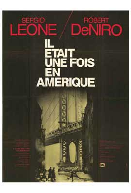 Once Upon a Time in America - 11 x 17 Movie Poster - French Style B