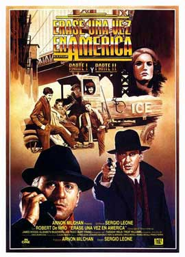 Once Upon a Time in America - 27 x 40 Movie Poster - Spanish Style A