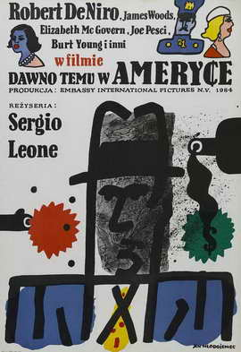 Once Upon a Time in America - 27 x 40 Movie Poster - Polish Style A