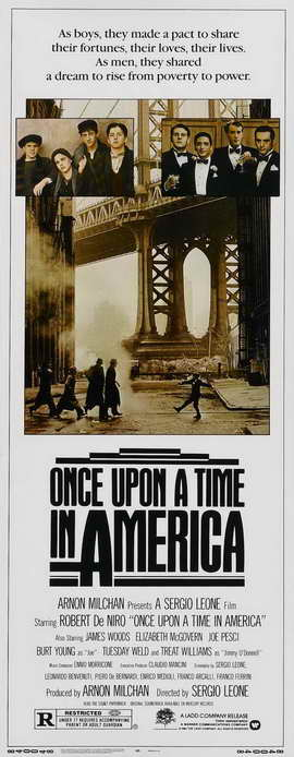 Once Upon a Time in America - 14 x 36 Movie Poster - Insert Style A