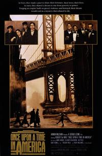 Once Upon a Time in America - 11 x 17 Movie Poster - Style A - Museum Wrapped Canvas
