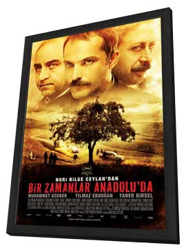 Once Upon a Time in Anatolia - 11 x 17 Movie Poster - Style B - in Deluxe Wood Frame