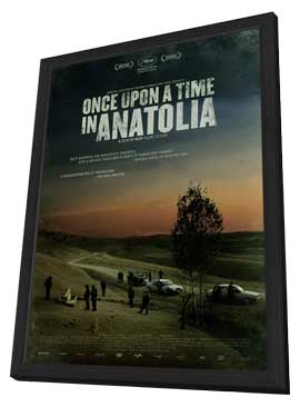 Once Upon a Time in Anatolia - 11 x 17 Movie Poster - Style C - in Deluxe Wood Frame