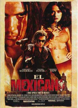 Once Upon a Time in Mexico - 11 x 17 Movie Poster - Spanish Style A