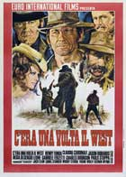 Once Upon a Time in the West - 27 x 40 Movie Poster - Italian Style D
