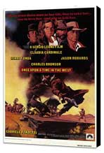 Once Upon a Time in the West - 27 x 40 Movie Poster - Style A - Museum Wrapped Canvas