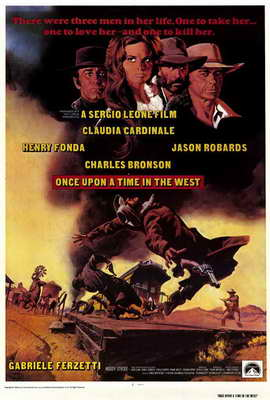 Once Upon a Time in the West - 27 x 40 Movie Poster - Style A