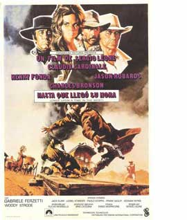 Once Upon a Time in the West - 11 x 17 Movie Poster - Spanish Style A