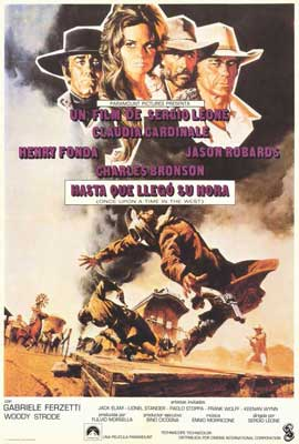 Once Upon a Time in the West - 27 x 40 Movie Poster - Spanish Style A