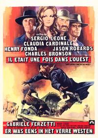 Once Upon a Time in the West - 11 x 17 Movie Poster - Belgian Style A