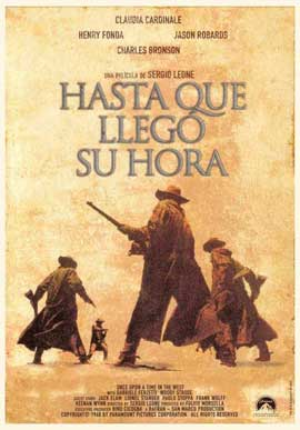 Once Upon a Time in the West - 11 x 17 Movie Poster - Spanish Style B