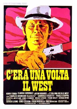 Once Upon a Time in the West - 27 x 40 Movie Poster - Italian Style B