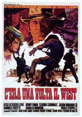 Once Upon a Time in the West - 27 x 40 Movie Poster - Italian Style C