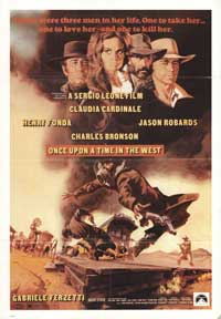 Once Upon a Time in the West - 43 x 62 Movie Poster - Bus Shelter Style B