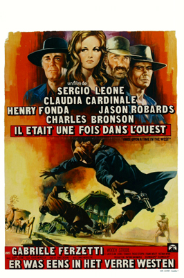 Once Upon a Time in the West - 27 x 40 Movie Poster - Belgian Style A